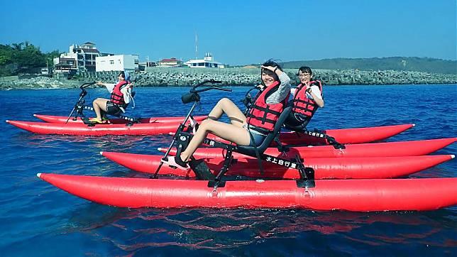 小琉球水上活動推薦-小琉球水上自行車
