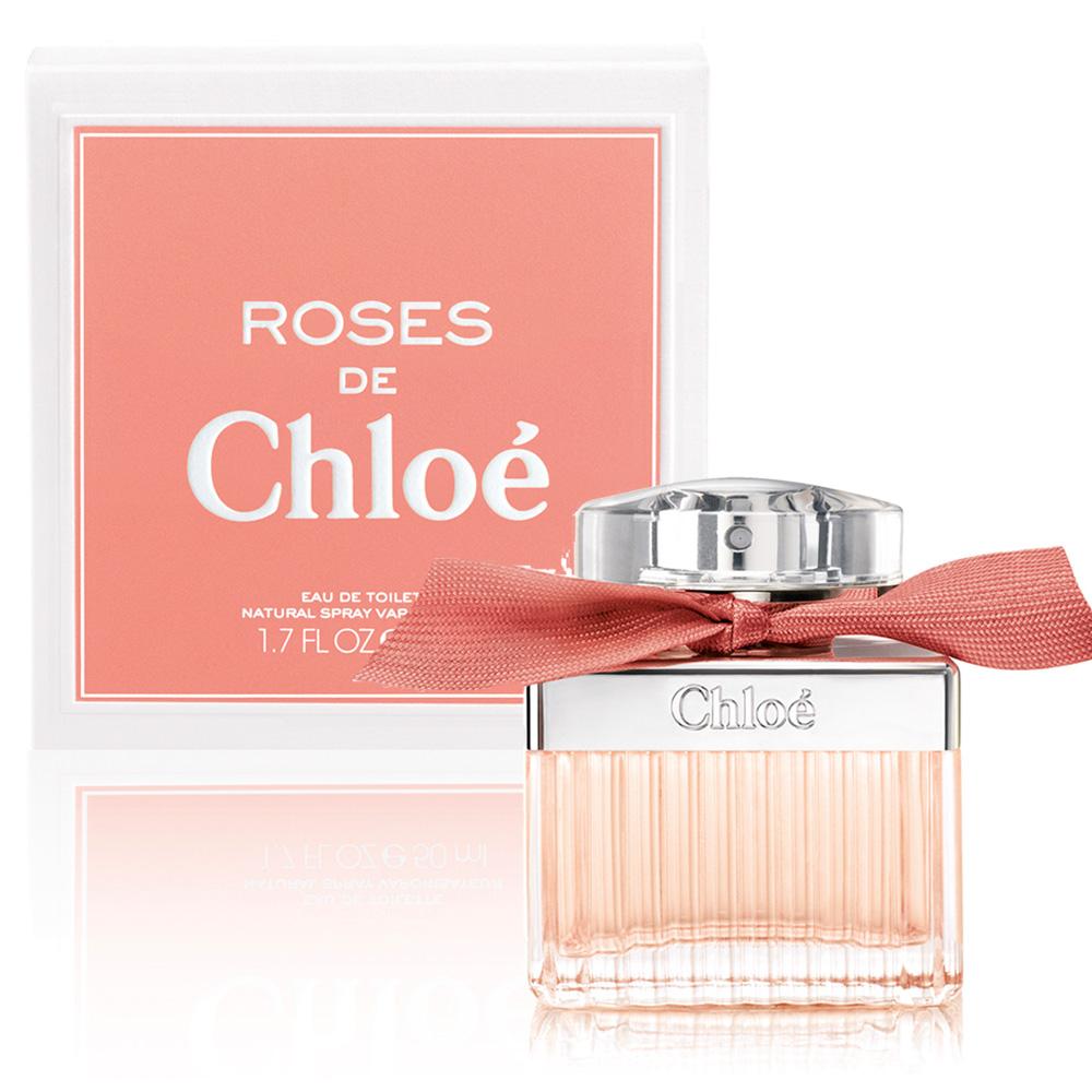 Chloe Roses 玫瑰女性淡香水 50ml【5295 我愛購物】