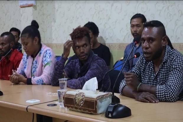 Papua Barat Membara, Ini Curahan Hati Mahasiswa Papua di Surabaya
