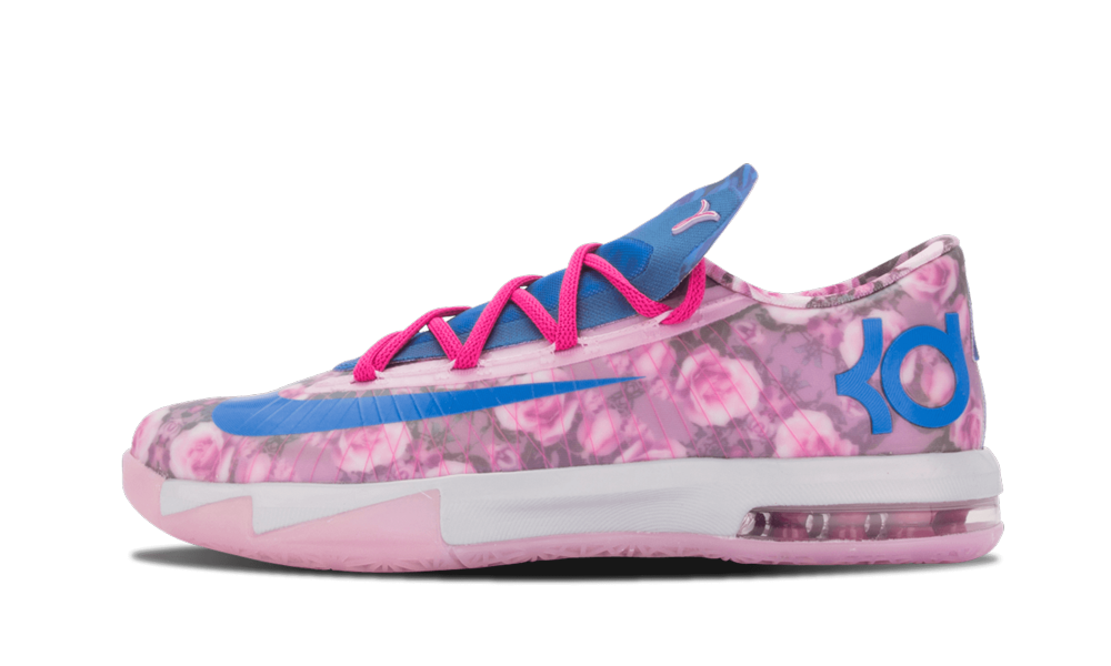 Kevin Durant's yearly tribute colorway for his Aunt Pearl who died of cancer got one of its best int