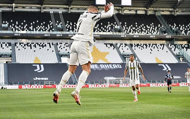 Ujung tombak Juventus Cristiano Ronaldo/Twitter@juventusfcen