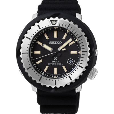 原廠公司貨 SNE541P1 街頭最酷風格小鮪魚潛水錶 太陽能機芯,200米防水 料號:V157-0DD0D