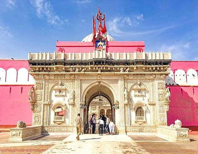 其實Karni Mata也是印度著名的文化遺產,已有六百多年的歷史。(互聯網)