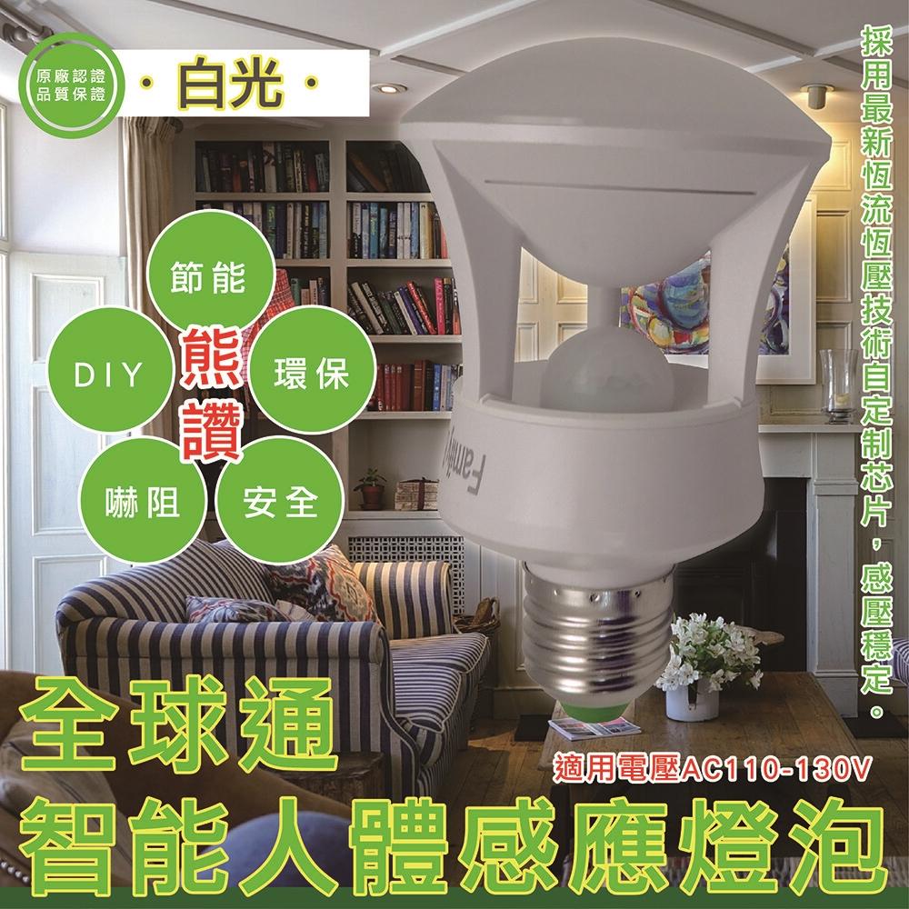 ◆ 45顆高效能LED燈泡 ◆ 光控+360度感應 ◆ 免接線.無須設定.裝入即可使用 ◆ 優質無炫光燈罩透光率80% 商品規格: ◆ 全電壓:E27螺旋 ◆ 適用電壓:AC 110~130V ◆ 整