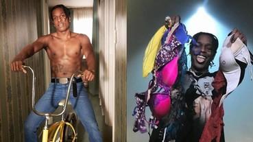 女粉狂扔胸罩上台!A$AP Rocky 幽默稱:「我要開一個自己的內衣品牌,蕾哈娜給我小心點!」