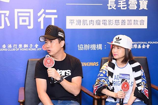 林子博與太太Shirley分享患病經過。