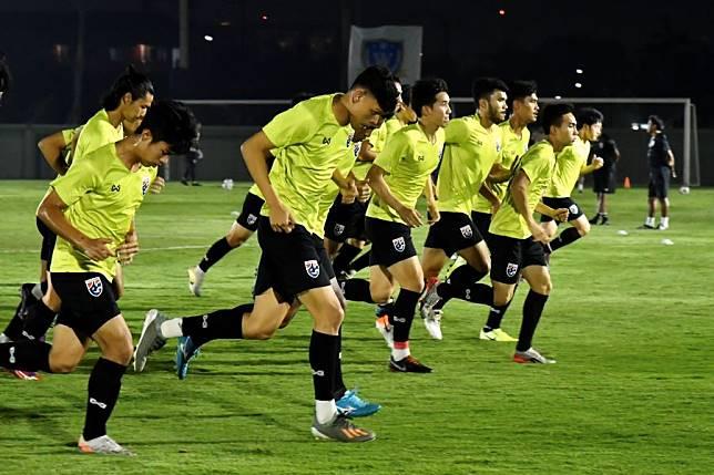 ช้างศึก U23 ซ้อมครั้งสุดท้าย ก่อนเจอ ซาอุฯ นิชิโนะ ยังไม่ตัดสินใจเลือกผู้เล่น 11 ตัวจริง