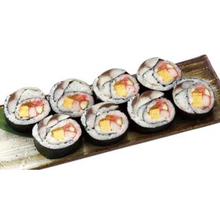 〆サバの太巻寿司
