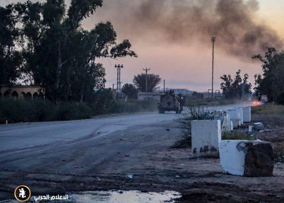 Ilustrasi: Suasana di Libia