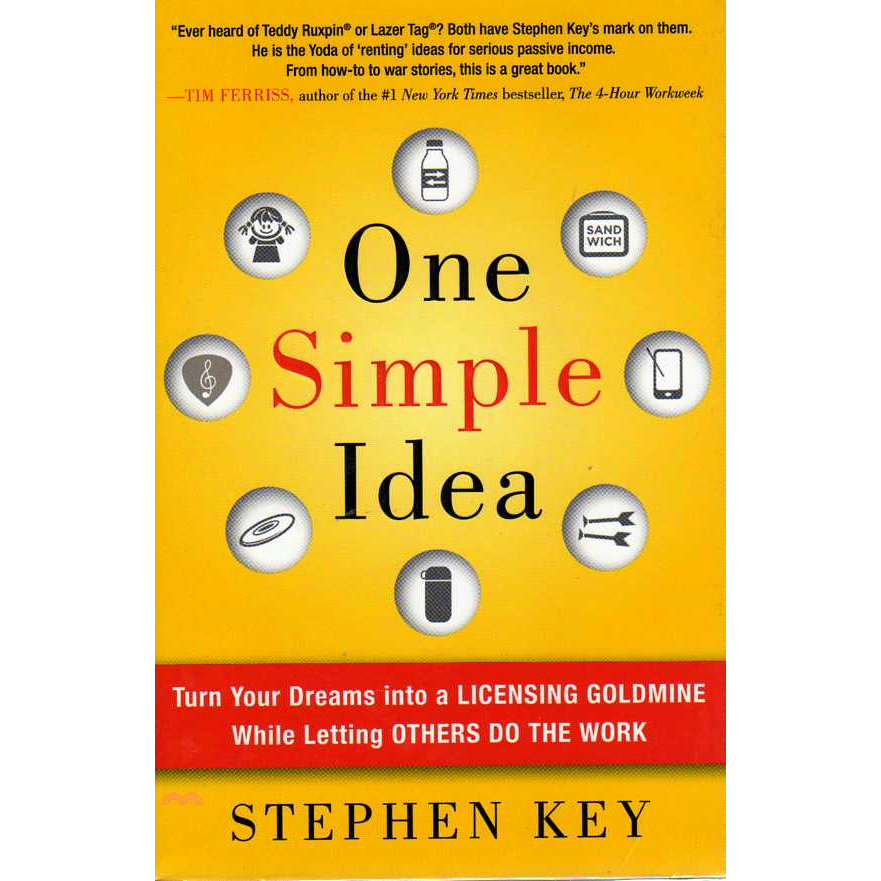 書名:ONE SIMPLE IDEA: TURN YOUR DREAMS INTO A定價:748元ISBN13:9780071756150出版社:Mcgraw-Hill, Inc.作者:KEY版次: