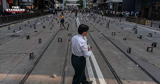 สถานกงสุลใหญ่ประกาศเตือนคนไทยในฮ่องกง หลังชุมนุมประท้วงเริ่มขยายตัวขึ้นในวันธรรมดา