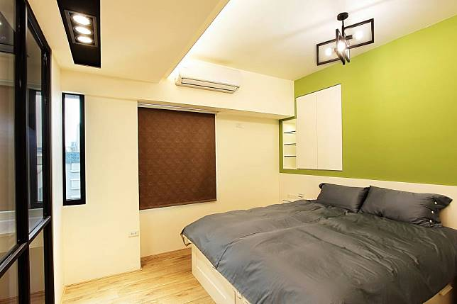 宜人的床頭牆設計