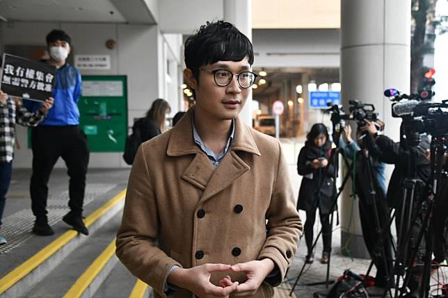 劉頴匡獲准保釋。
