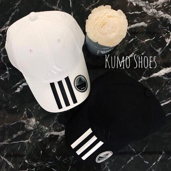 Kumo shoes ADIDAS 帽子 老帽 休閒 舒適 黑 白