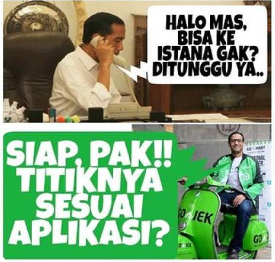 Image result for nadiem makarim vespa
