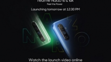 realme最後敲定Narzo品牌新機將在5月11日亮相