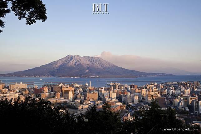ครบรอบ 130 ปี คาโกชิมะเมืองแห่งธรรมชาติสรรสร้างบนเกาะคิวชูญี่ปุ่น