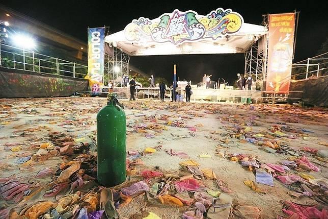 八仙塵燃意外造成15人死亡,358人重傷,113人普通傷害慘劇。資料照片。記者鄭清元/攝影