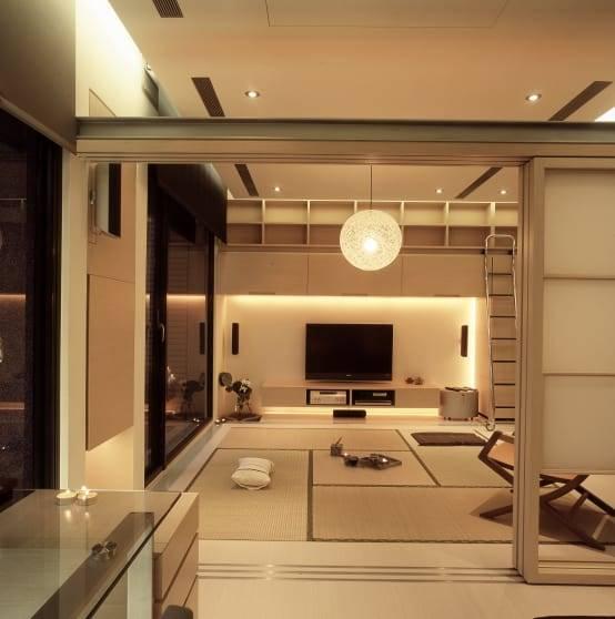 3. 暖色調空間