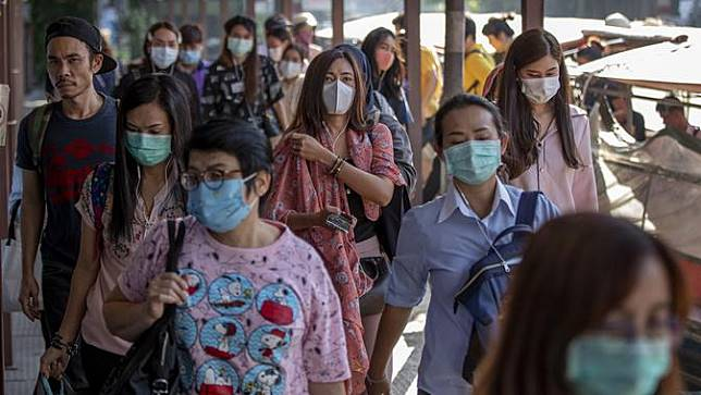Dampak Penyebaran Virus Corona, Pengunaan Masker Meningkat di Asiai Penyebaran Virus Corona