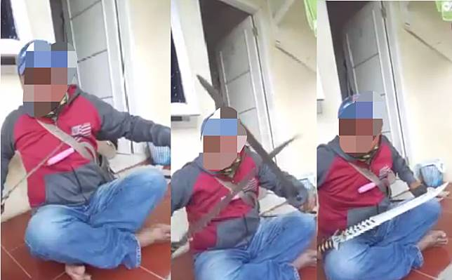 Viral Video Debt Collector Tantang 'Adu Pedang'