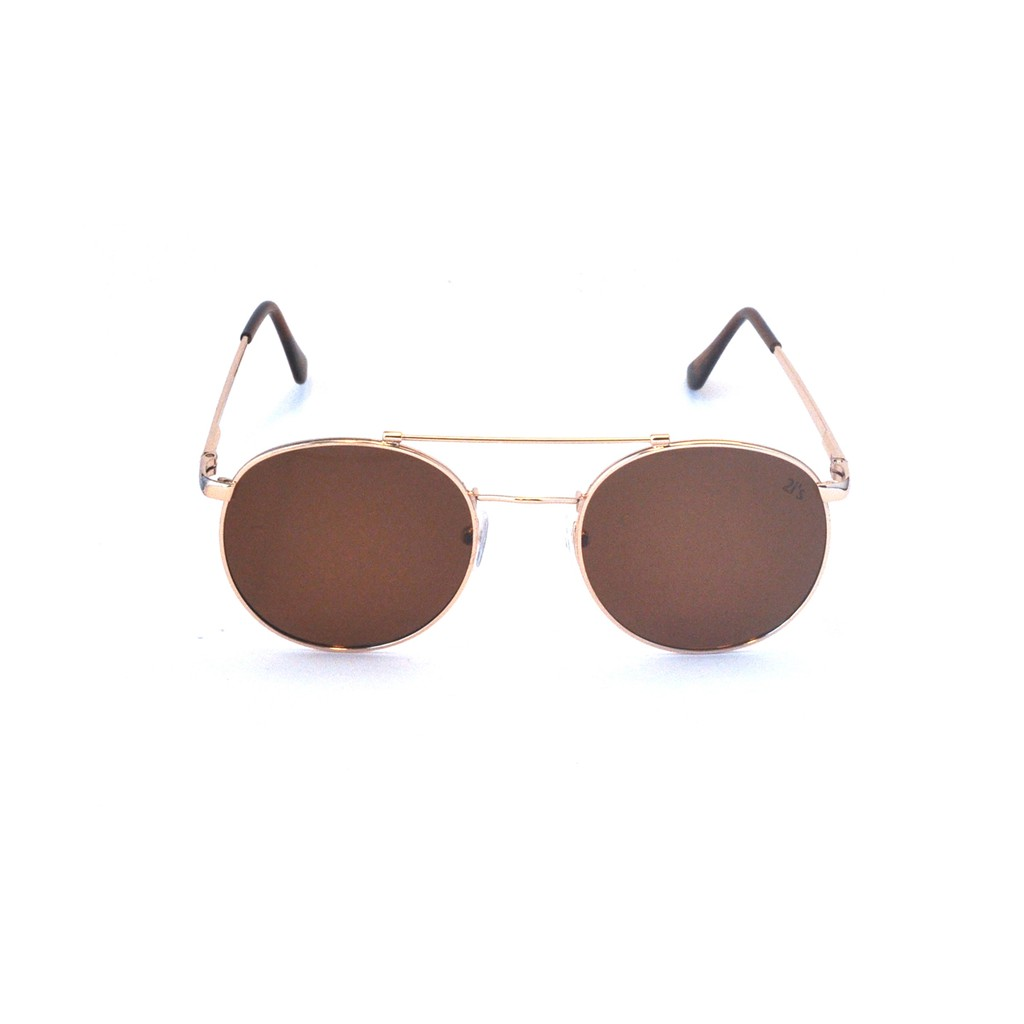 產品資訊:名稱/編號: 2is_JackiC 鏡架色系: 金色 鏡片色系: 咖啡色 鏡框類型: 金屬全框鏡架材質: 金屬產品類別: 偏光太陽眼鏡防UV: UV400尺寸:a. 鏡面寬度: 50mm b