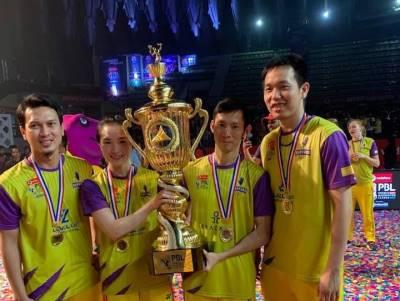 Hai tay vợt Việt Nam vô địch giải cầu lông triệu đô ở Ấn Độ