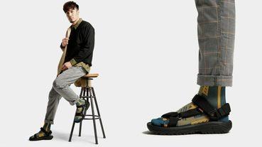 起點日著 / TEVA一週鞋襪穿搭 — 穿梭城市與戶外的褲裝風格