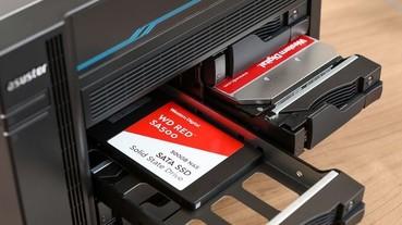 WD 更新旗下藍標及紅標系列產品線,首度推出 NAS 專用 SSD 以及散熱效率更佳的 Blue NVMe SSD