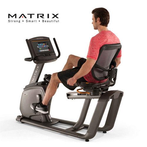 喬山JOHNSON Matrix Retail R30 斜臥式健身車 [XR控制面板] 國旅卡特約店