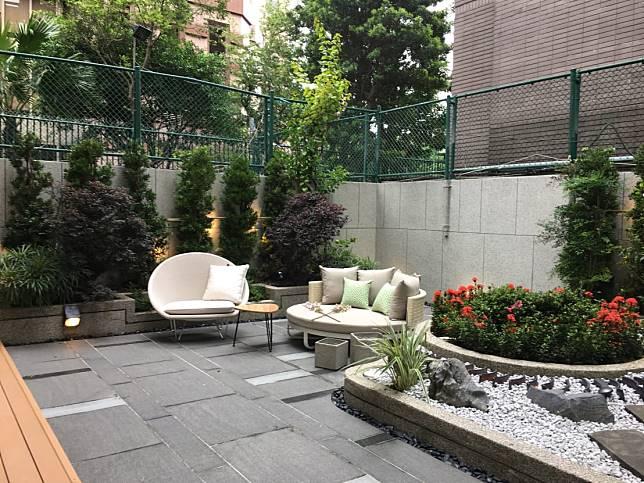 1. 大面積的庭院