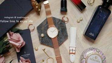 【手錶開箱】Nordgreen 北歐丹麥品牌 Philosopher 玫瑰金 36mm│簡約時尚手錶│可自行更換錶帶 ❤跟著Livia享受人生❤