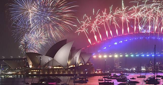 ปีใหม่ นับถอยหลัง ออสเตรเลีย