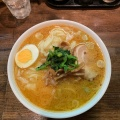 味噌ワンタンメン - 実際訪問したユーザーが直接撮影して投稿した西新宿ラーメン専門店光来の写真のメニュー情報
