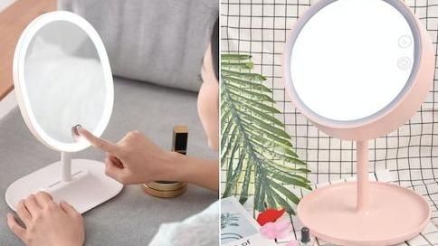 光源對了妝也會更精緻!LED化妝鏡讓你上妝不NG