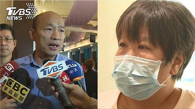 高雄市長韓國瑜(左)、資深媒體人黃光芹(右)圖/TVBS資料畫面