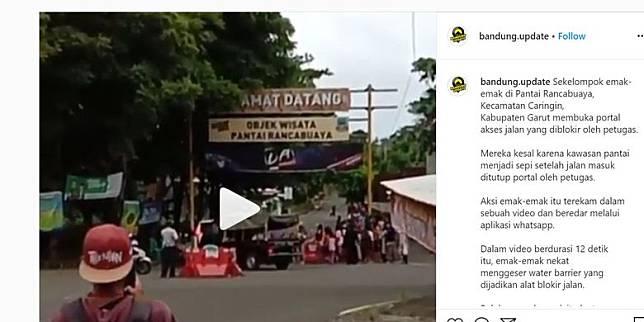 repro bidik layar akun Instagram @bandung.update