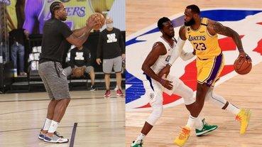 NBA正式解禁復賽!除了精彩球賽,LeBron、字母哥未曝光的「腳上戰靴」也成亮點,鞋迷:拜託快點出~