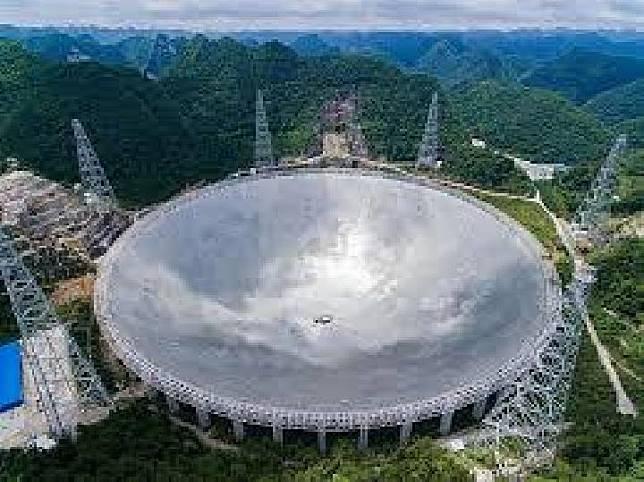 Cina Resmikan Beroperasinya Teleskop Terbesar di Dunia