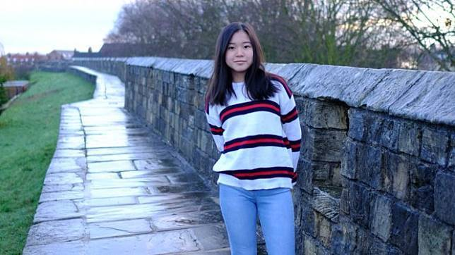 Celestine Wenardy, siswi kelas 10 British School Jakarta