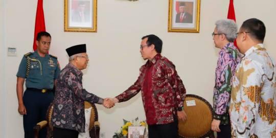 Bukalapak dan Wapres Ma'ruf Amin. ©2019 Merdeka.com