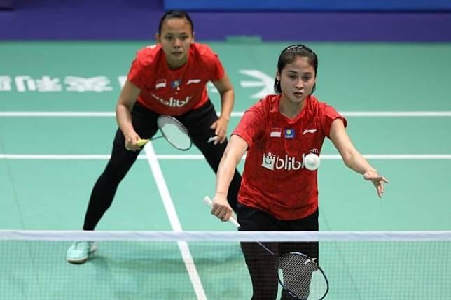 Tiga wakil Indonesia lolos perempat final Kejuaraan Badminton Asia