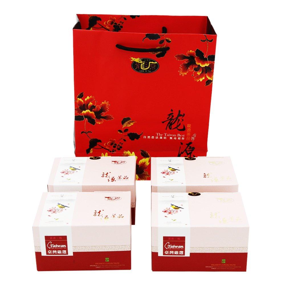 【鑫龍源茶】台灣黃山雀阿里山金萱茶4盒組(150g/盒) - 共600g