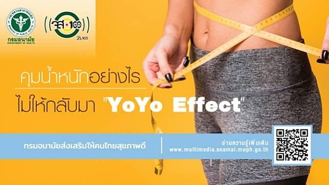 คุมน้ำหนักอย่างไรไม่ให้กลับมา YOYO Effect