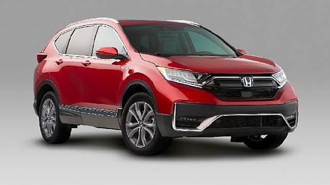 Honda CR-V Hybrid 2020. Sumber: carscoops.com