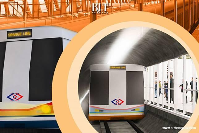 รถไฟฟ้าสายสีส้ม ช่วงบางขุนนนท์-มีนบุรี มูลค่ากว่า 1.4 แสนล้านบาท เตรียมเปิดประมูล 1 พ.ค. นี้