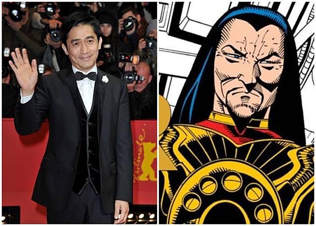 梁朝偉接拍漫威超英片《上氣》飾演奸角滿大人。
