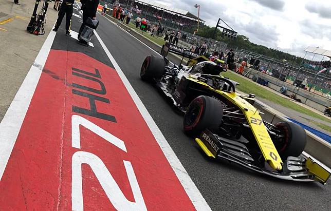 Pembalap Renault,Nico Hulkenberg