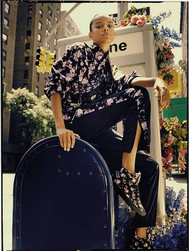 PUMA x Tabitha Simmons運動褲款。(互聯網)