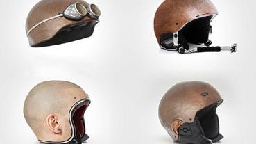 想要在上下班時與眾不同?那就來試試這款人頭安全帽!!